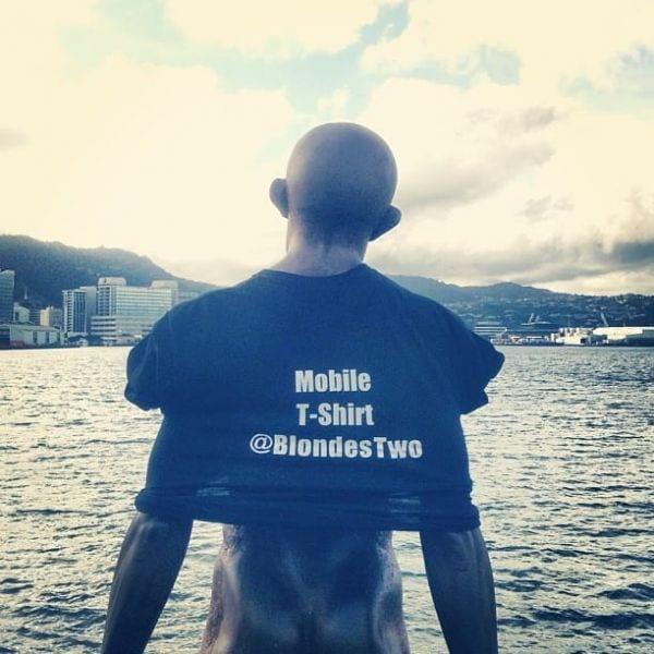 Mobile T-Shirt Wellington