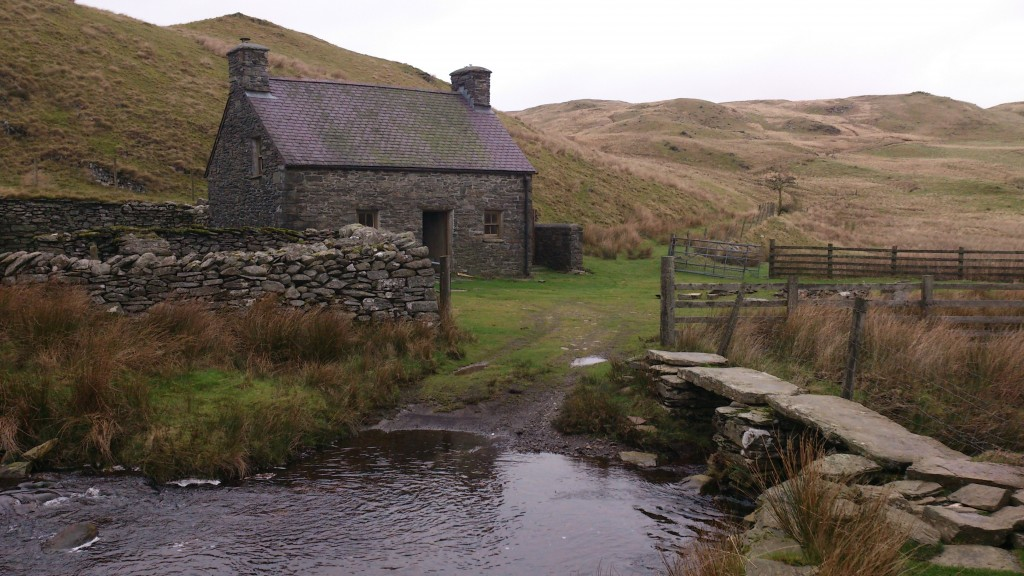 Outside Bothy Bridge