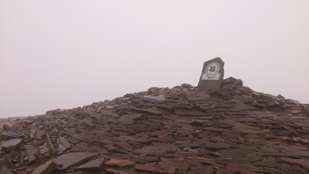 Pen y Fan summit