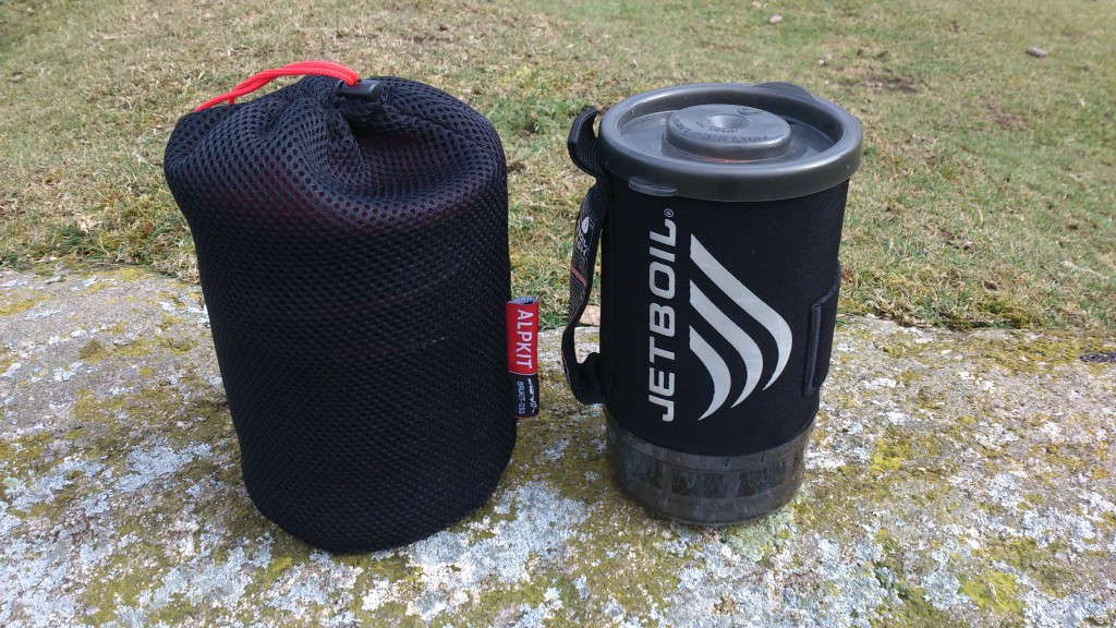 Jetboil and Brukit 1