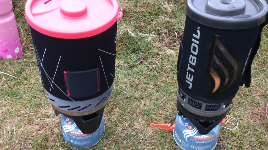 Jetboil and Brukit 2
