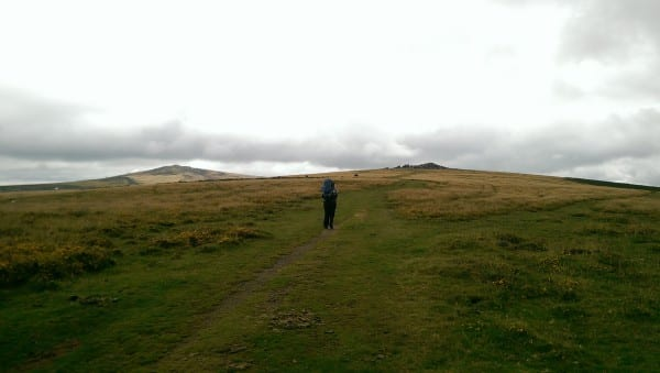 Walking With Rucksack