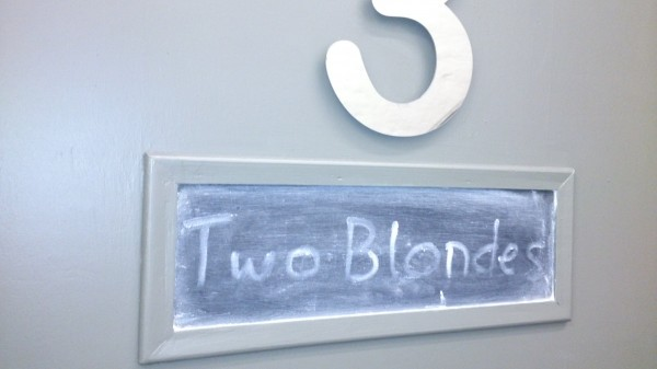 Blonde Dressing Room