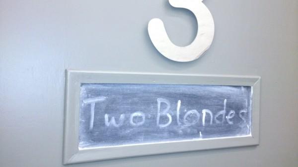 Blonde Dressing Room