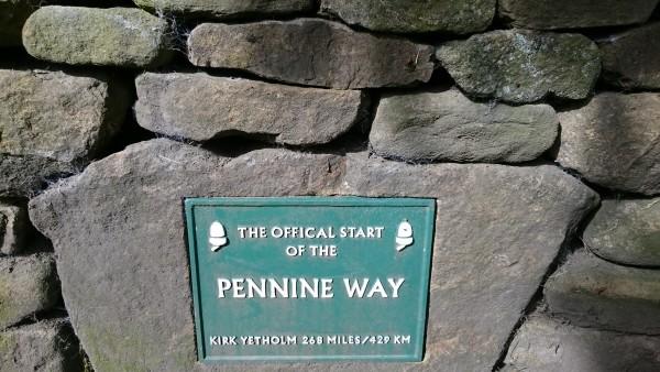 Pennine Way Start