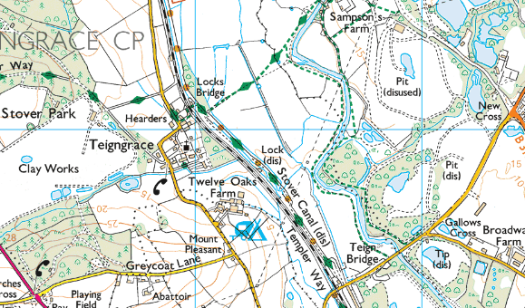 Copyright: Ordnance Survey 2016