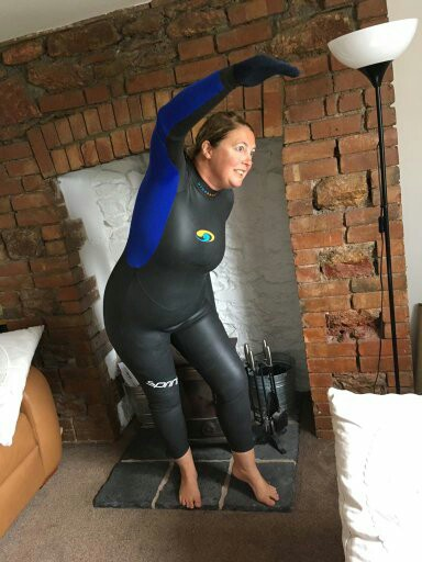 Swim the lakes wetsuit gurus extra ordinaire dartmoor hiking for Children s swimming pool wetsuit