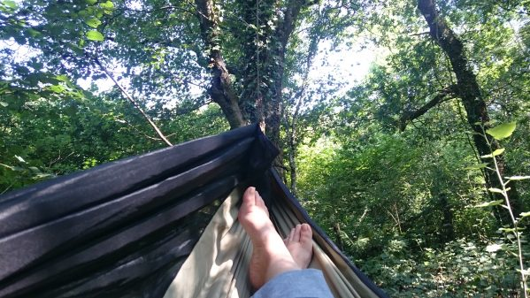 Hammock Time Always Say Thank You Dartmoor Hiking