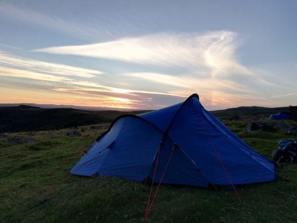 Dartmoor wild camping - a tale of two weathers | Dartmoor ...